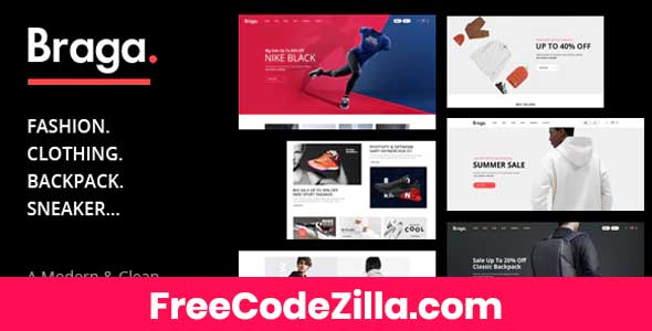 Braga - Fashion Theme for WooCommerce WordPress Free Download