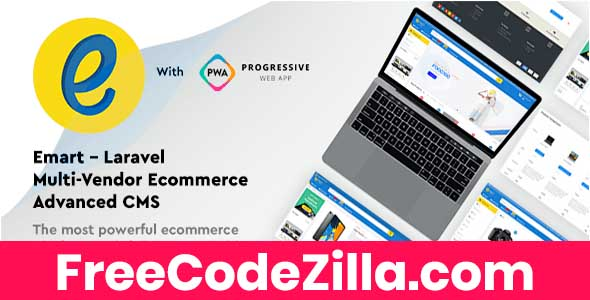 Emart - Laravel Multi-Vendor Ecommerce Advanced CMS Free Download