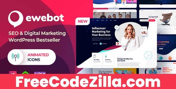 Ewebot Nulled – Marketing SEO Digital Agency WordPress Theme