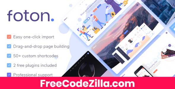 Foton - Software and App Landing Page Theme Free Download