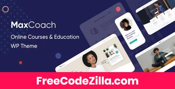 MaxCoach v2.5.1 – Online Course & Education WordPress Theme