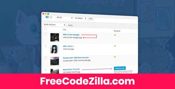 Media File Renamer Pro Free Download