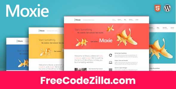 Moxie - Responsive Theme for WordPress Free Download
