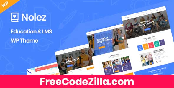 Nolez – Education WordPress Theme Free Download