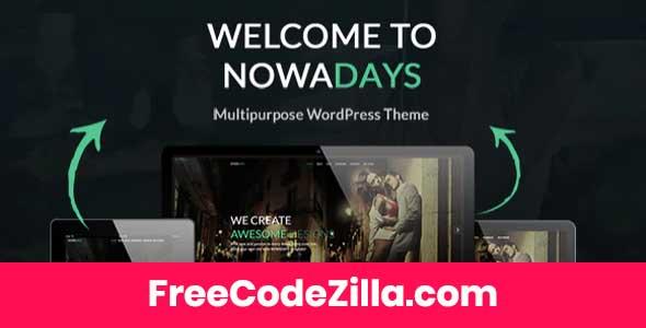 NowaDays - Multipurpose WordPress Theme Free Download