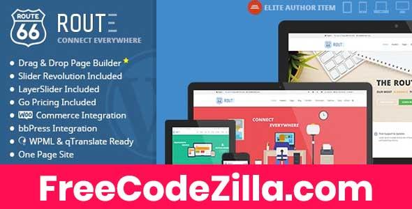 Route - Responsive Multi-Purpose WordPress Theme Free Download