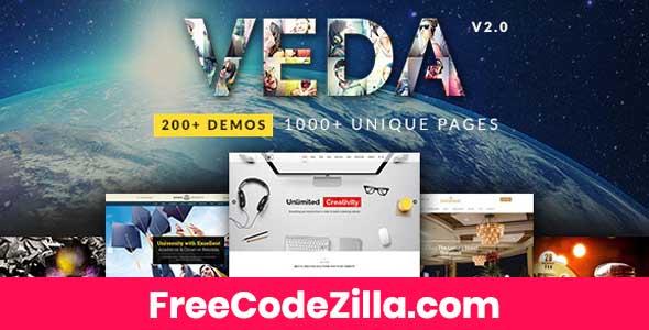VEDA - MultiPurpose WordPress Theme Free Download