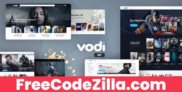 Vodi - Video WordPress Theme Free Download