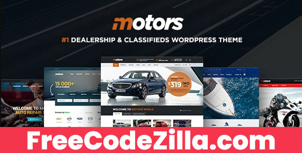 Motors - Classifieds WordPress Theme