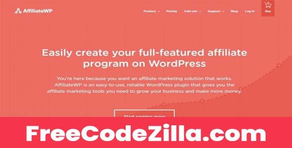 AffiliateWP Nulled + Addons - Affiliate Marketing WordPress Plugin