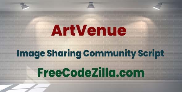 ArtVenue Nulled - Image Sharing Community Script