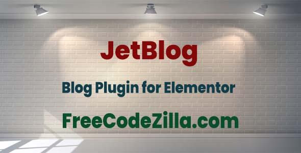JetBlog for Elementor Free Download