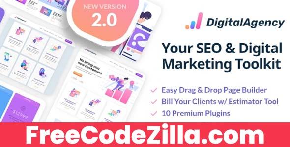 SEOWP Nulled - SEO & Digital Marketing WordPress Theme