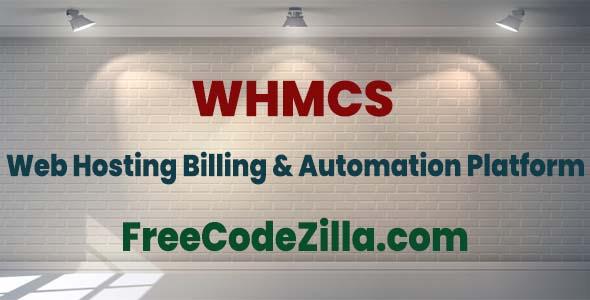 WHMCS Nulled – Web Hosting Billing & Automation Platform