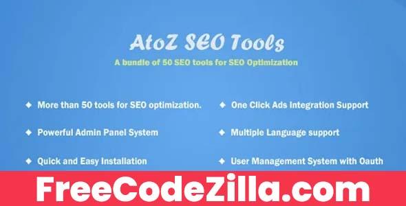 AtoZ SEO Tools - Search Engine Optimization Tools Free Download