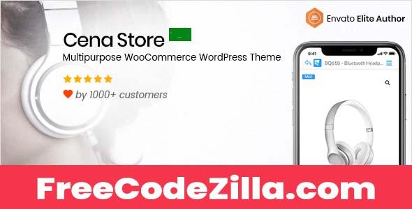 Cena Store Nulled - Multipurpose WooCommerce WordPress Theme