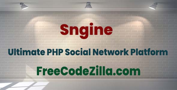 Sngine Nulled - The Ultimate PHP Social Network Platform