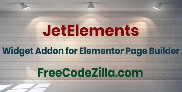 JetElements – Widget Addon for Elementor Page Builder Free Download