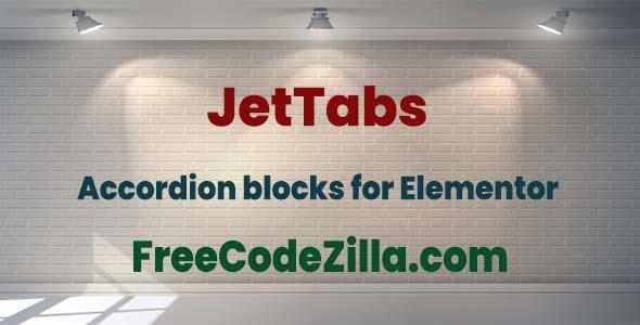 JetTabs for Elementor WordPress Plugin free download