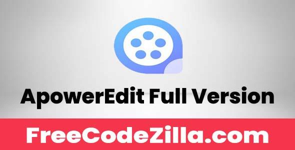 ApowerEdit Free Download