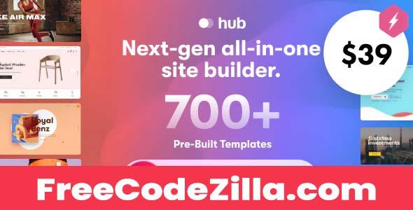 Hub v1.2.2 – Responsive Multi-Purpose WordPress Theme